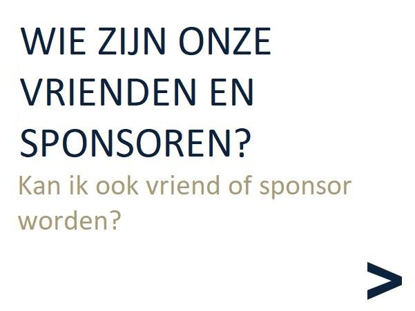 Wie zijn onze vrienden en sponsoren?